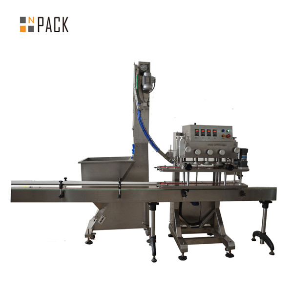 Awtomatikong 6 Wheels Linear Trigger Capping Machine 3
