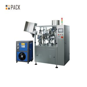 Awtomatikong ultrasonic medikal at parmasyutiko tube pagpuno sealing machine