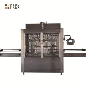 Dalawang ulo pneumatic volumetric piston liquid filling machine