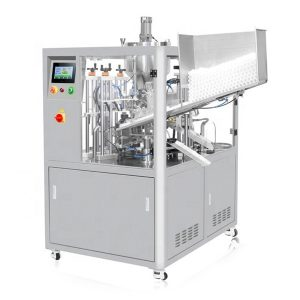 Ultrasonic Sealing Cosmetic Tube Filling Machine