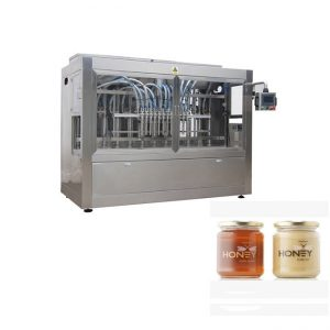 Murang pagpuno ng packing jar honey bottling machine